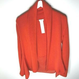 AKRIS PUNTO Cotton Ribbed Women's Cardigan Size 10